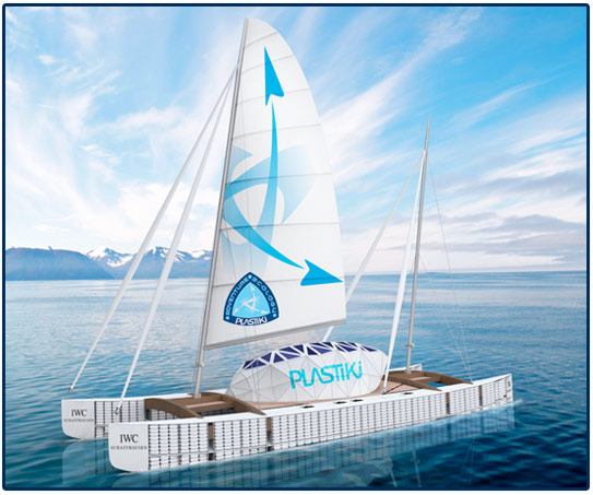 David de Rothschild, Plastiki, Adventure Ecology, eco boat, sustainable ocean, recycled boat