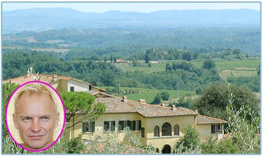 sting, tuscany, organic farming, organic wine