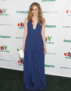 Actress Alicia Silverstone attends the 2009 Heart of Green award