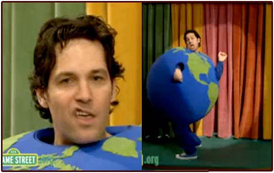 paul rudd, muppets, green, eco