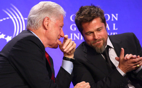 brad pitt, bill clinton, make it right, clinton global initiative, eco-friendly, solar, new orleans, green building, green building council