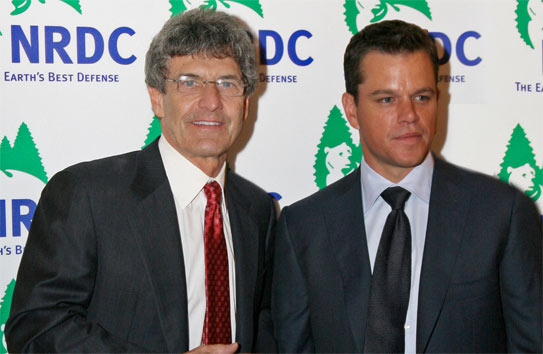 matt damon, eco, nrdc