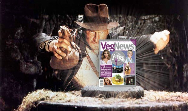indiana jones vegetarian