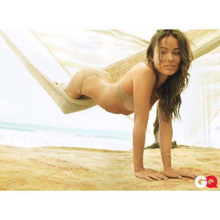 Olivia Wilde in GQ October 2009