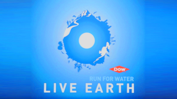 live earth water