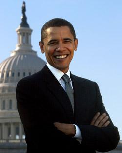 Barack Obama Capitol 04_27012009