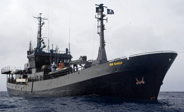 Sea Shepherd's new ship - the Bob Barker