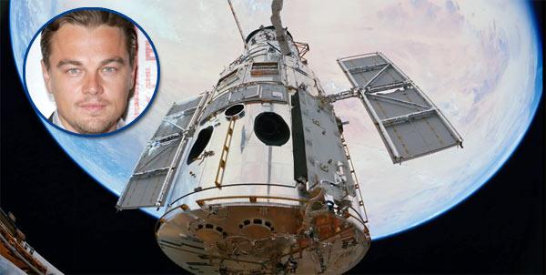 Leonardo DiCaprio, Hubble spacecraft, Hubble 3D, space movie, Leonardo DiCaprio voice over, sexy movie actor, space week