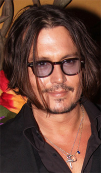 johnny depp, france, countryside, island
