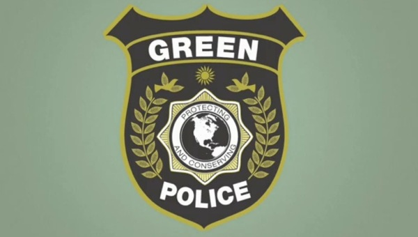green_police