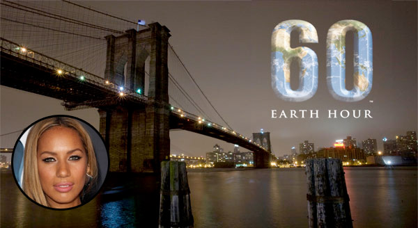 earth hour 2010, leona lewis