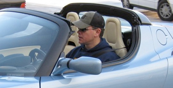 matt damon, tesla