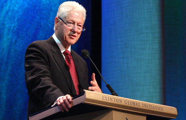bill clinton, clinton global initiative,
