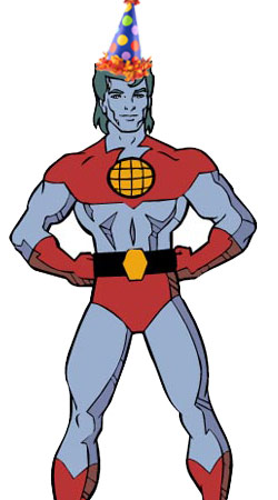 captain planet, birthday