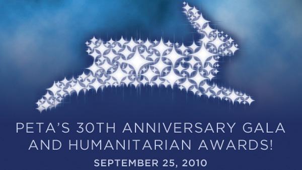 peta, 30th anniversary gala