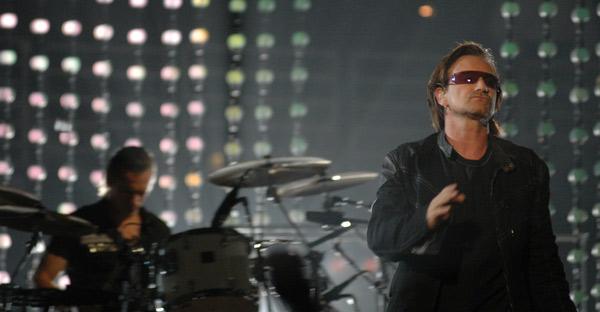 bono, u2, rock, concert