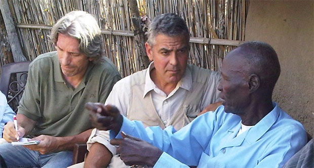 George Clooney in the Sudan