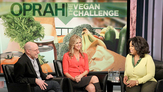 oprah vegan challenge, vegetarian, food, sustainable, oprah winfrey, healty eating