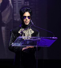 Prince Announces His ?Welcome 2 America? Tour at a Press Conference at the Apollo Theater in New York City on October 14, 2010