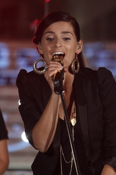 Nelly Furtado in Concert in Madrid on October 6, 2009