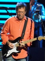 Eric Clapton in concert at the Royal Albert Hall in London - May 25, 2006