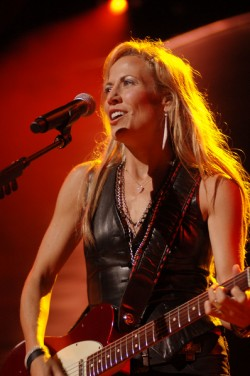 Sheryl Crow at the First Midwest Bank Amphitheatre