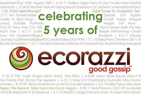 Celebrating Five Years of Ecorazzi