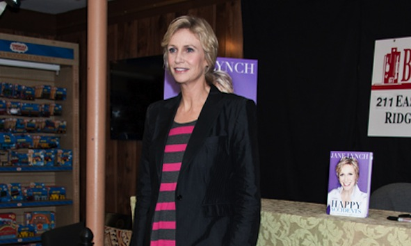 "Jane Lynch ""Happy Accidents"" Book Signing at Bookends in Ridgewood on September 21, 2011"