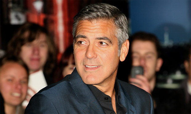 George Clooney on adopting dogs