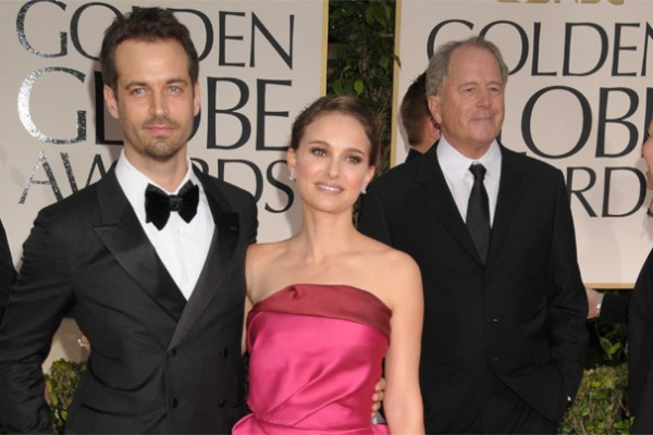 Natalie Porman is Lanvin gown at the 2012 Golden Globes