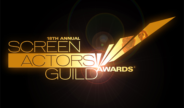 The logo for the 2012 SAG Awards