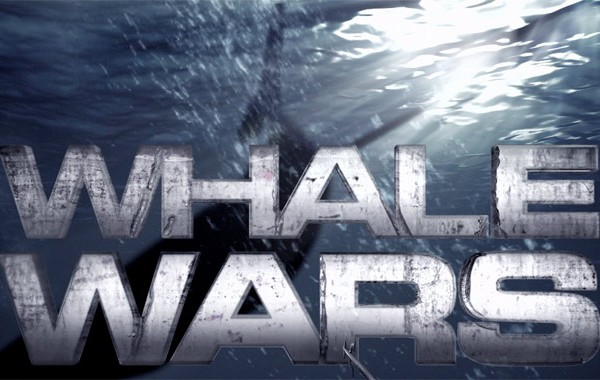 Whale Wars logo for Animal Planet
