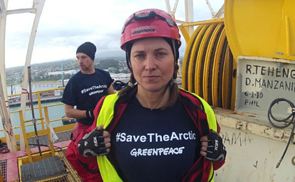 Lucy Lawless Greenpeace