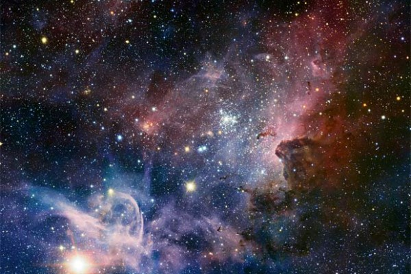 High resolution shot of the Carina Nebula