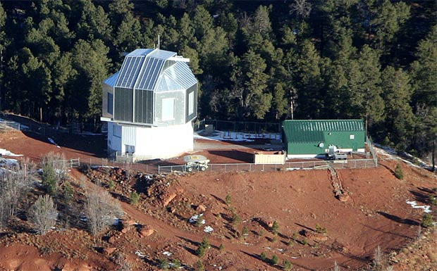The site of The Discovery Channel Telescope