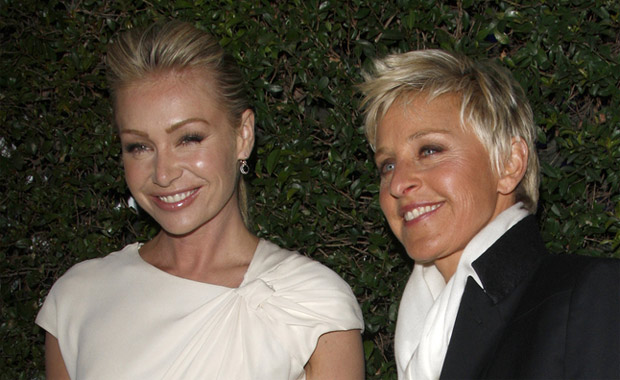 Ellen DeGeneres and Portia de Rossi open vegan restaurant