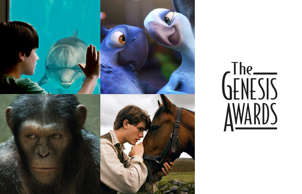 Logo for the 2012 Genesis Awards