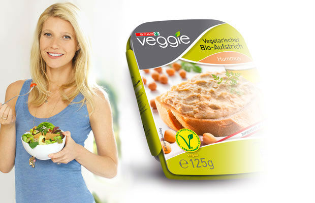 Gwyneth Paltrow becomes new face of Spar Supermarket's vegan fresh and frozen food line in Austria