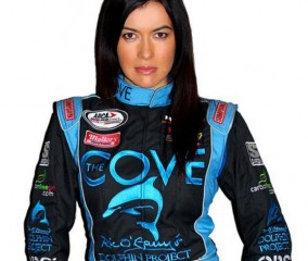 Leilani Munter to drive 'The Cove' themed race car at Daytona