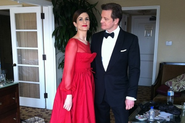 Livia Firth's Valentino Academy Awards Dress