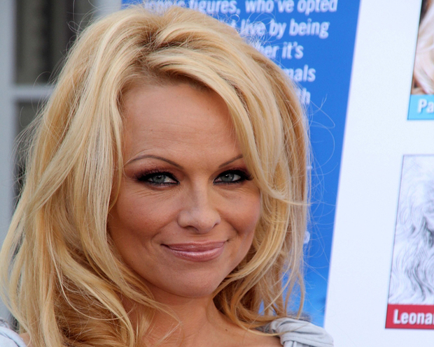Pamela Anderson says show love for animals this Valentine's Day