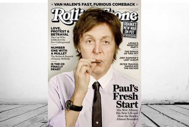 Paul McCartney in Rolling Stone Magazine