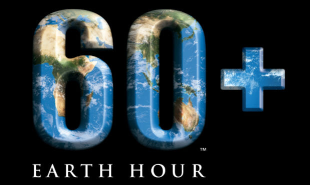 Earth Hour 2012 Logo Lights Out at 8:30pm March 31