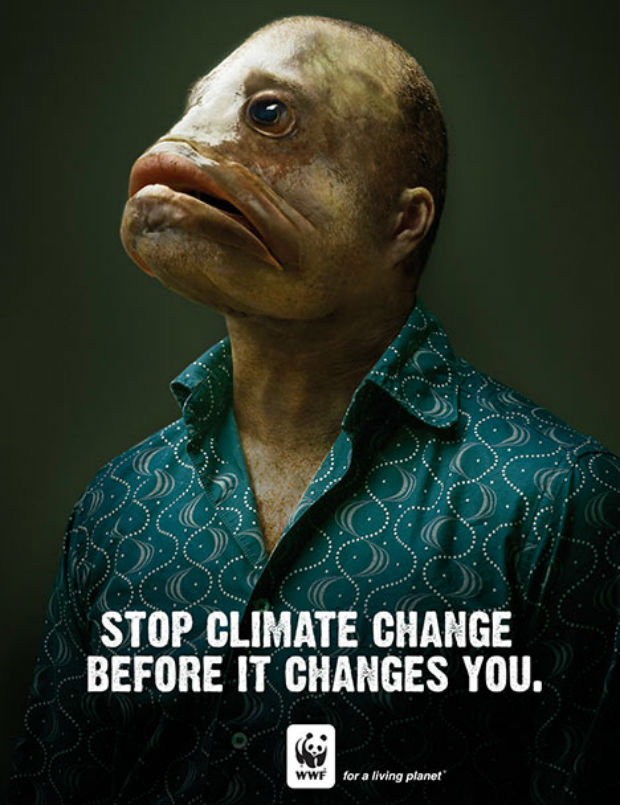 Environmental Ads WWF Stop Climate Change Before it Changes You