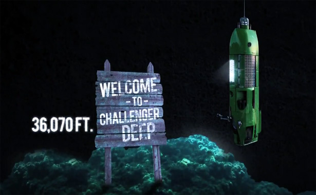 James Cameron to dive the Challenger Deep