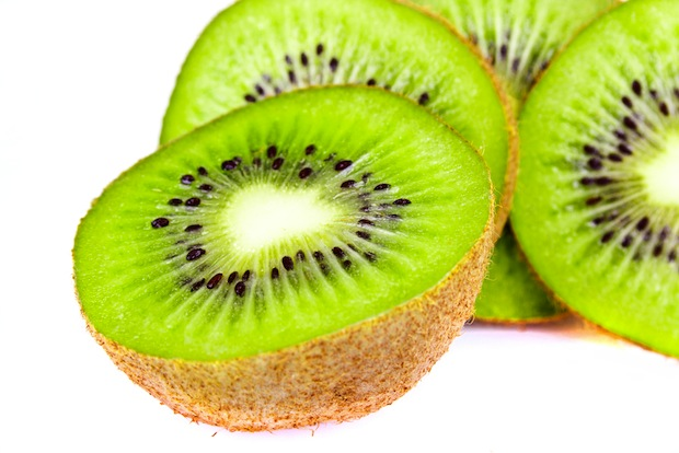 Kiwis are high in vitamin C and antioxidants.