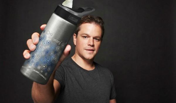Enter Ecorazzi's Microist Day contest to win limited edition Water.org water bottle