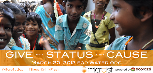 Give your Status for a Cause