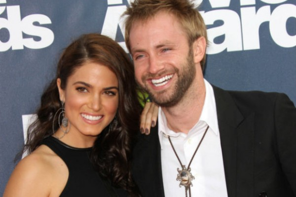 Nikki Reed and Paul McDonald adopt German shepherd shelter dog