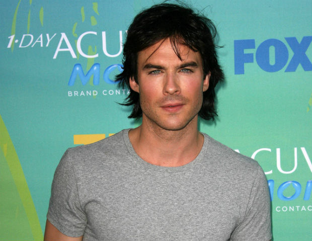 Ian Somerhalder opens recycled barn wood furniture store